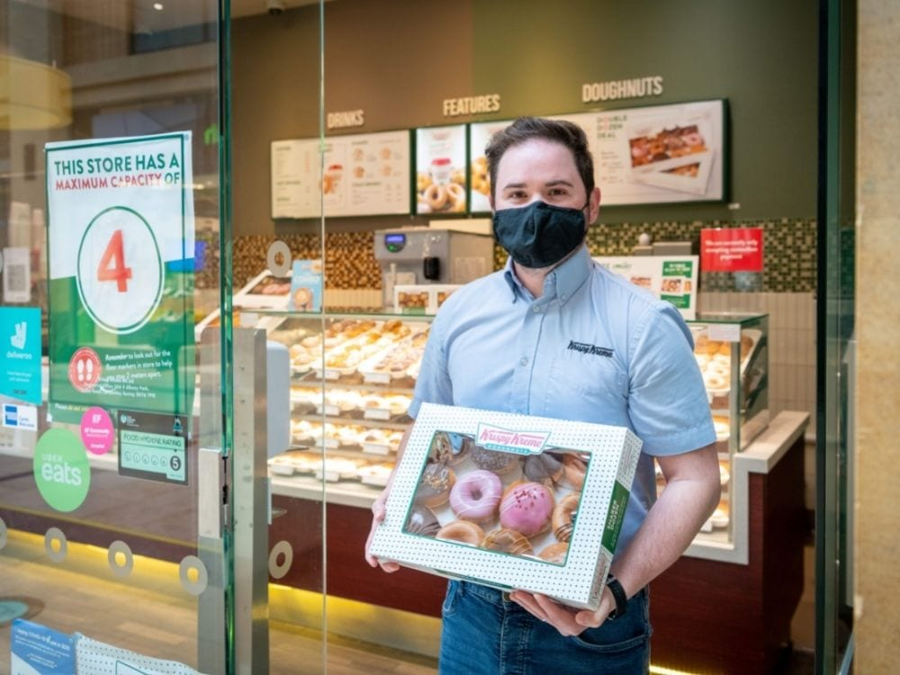 Click & Collect your doughnuts
