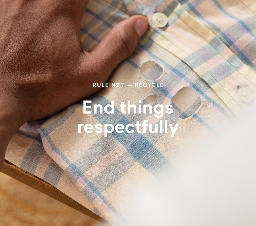 RULE No 7 – RECYCLE
