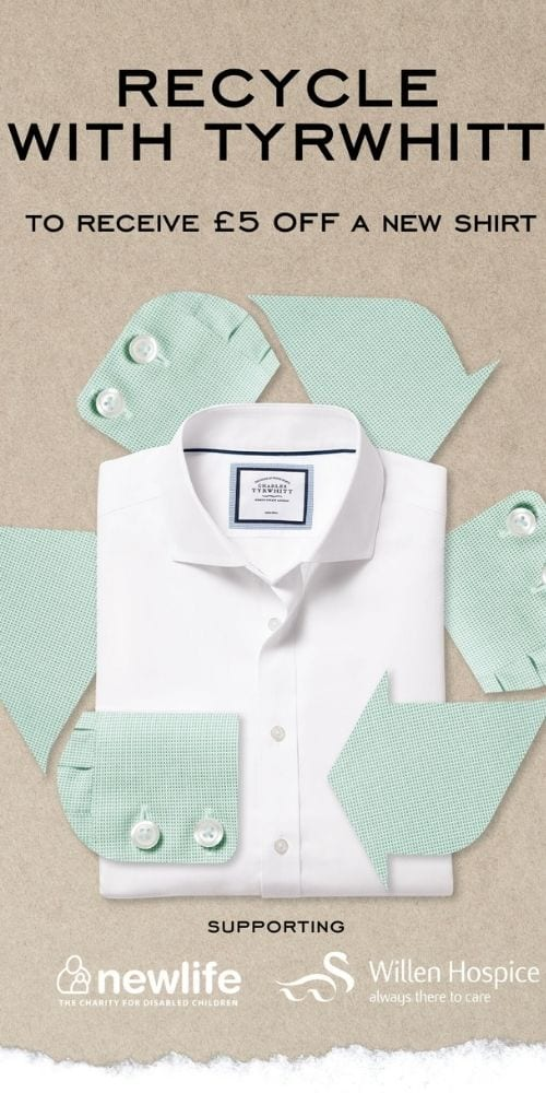 Recycle with Tyrwhitt
