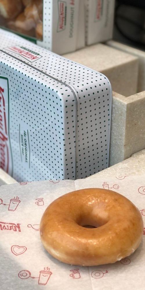 Free Original Glazed Krispy Kreme